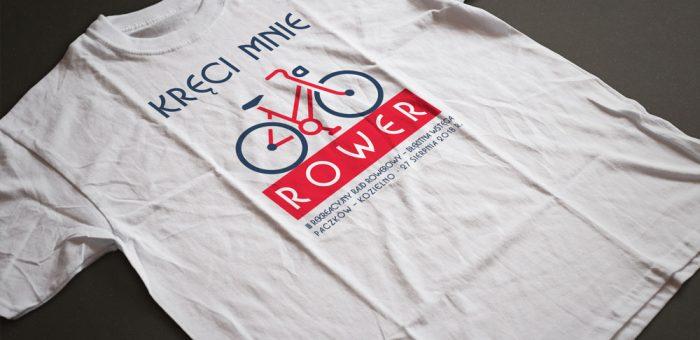 Jest już projekt koszulki na rajd rowerowy